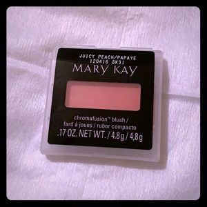 Mary Kay chromafusion blush juicy peach